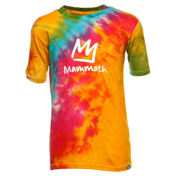 Tie Dye Adult Crown Tie-Dye Short Sleeve T-shirt