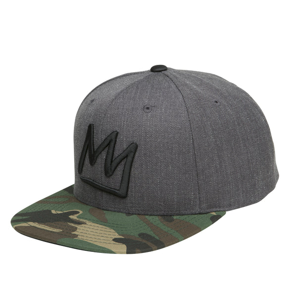 Crown Snap Back Hat