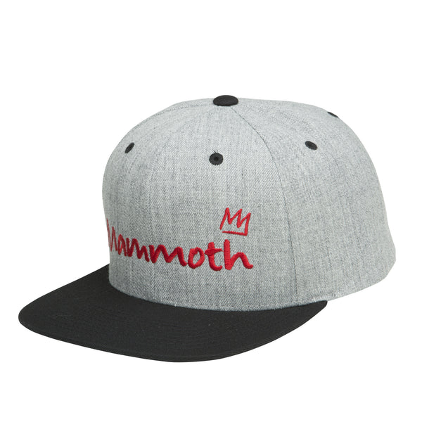 Mammoth Script Snap Back Hat