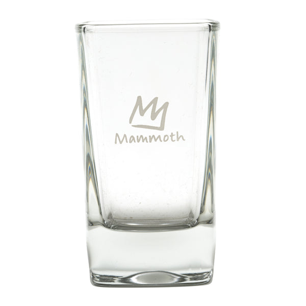 Crown Logo Square Shot Glass