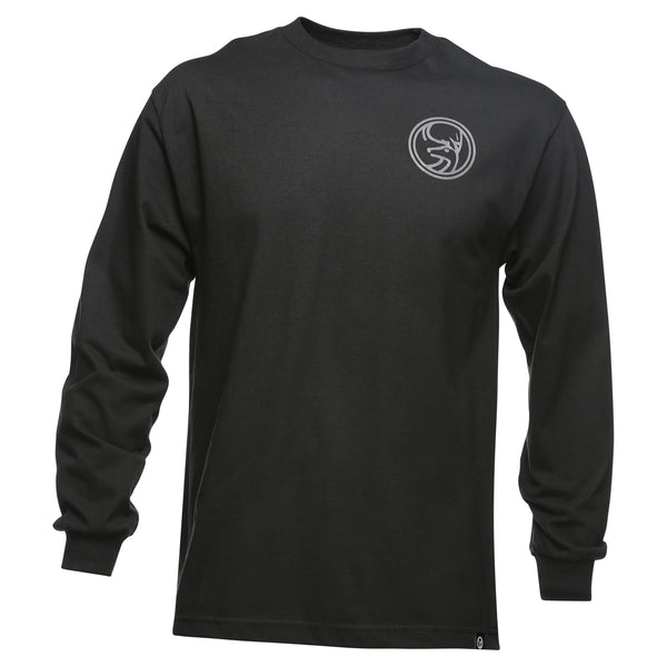 June Mountain Deer Logo Adult Long Sleeve T-shirt