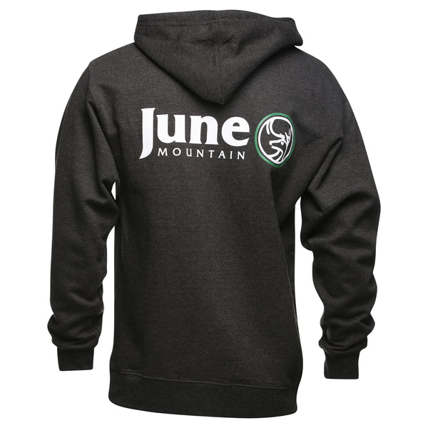 June Mountain Deer Adult Hoodie