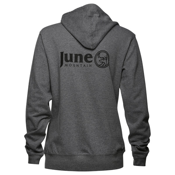 June Mountain Deer Logo Womens Zip Hoodie