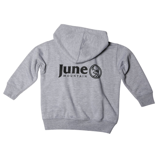 June Mountain Deer Logo Youth Zip Hoodie