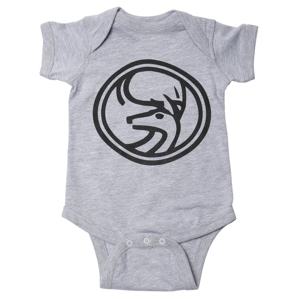 June Mountain Deer Infant Onesie