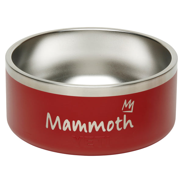Mammoth X Yeti Boomer 8 Dog Bowl