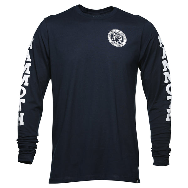 Adult Skiing Woolly Long Sleeve T-Shirt