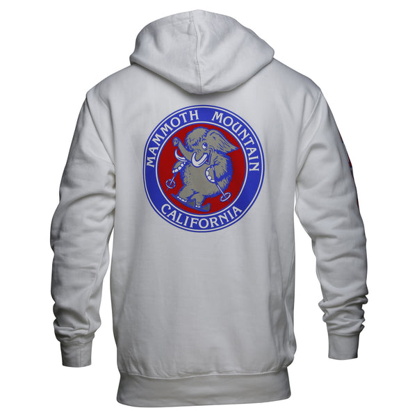 Skiing Woolly Adult Sweatshirt
