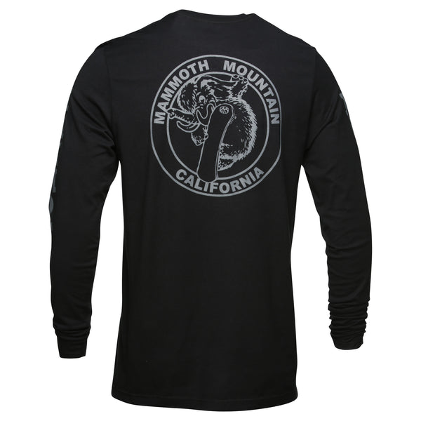Adult Snowboard Woolly Long Sleeve T-Shirt