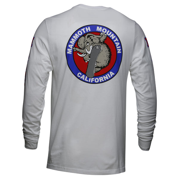 Snowboard Woolly Adult Long Sleeve T-Shirt