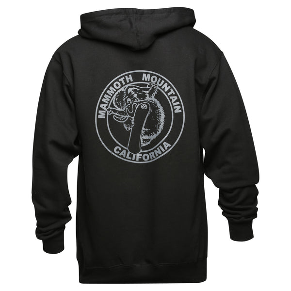 Adult Snowboard Woolly Zip Sweatshirt