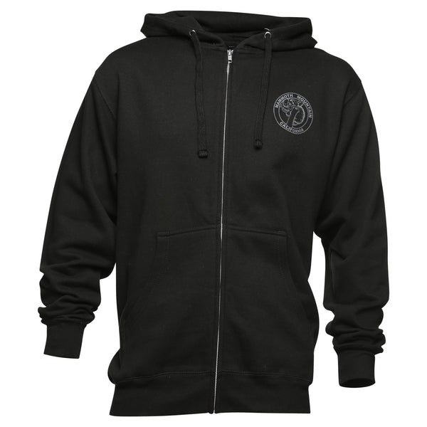 Snowboard Woolly Adult Zip Sweatshirt