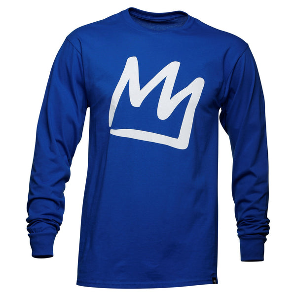 Adult Crown Long Sleeve T-Shirt