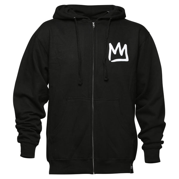 Crown Adult Zip Sweatshirt