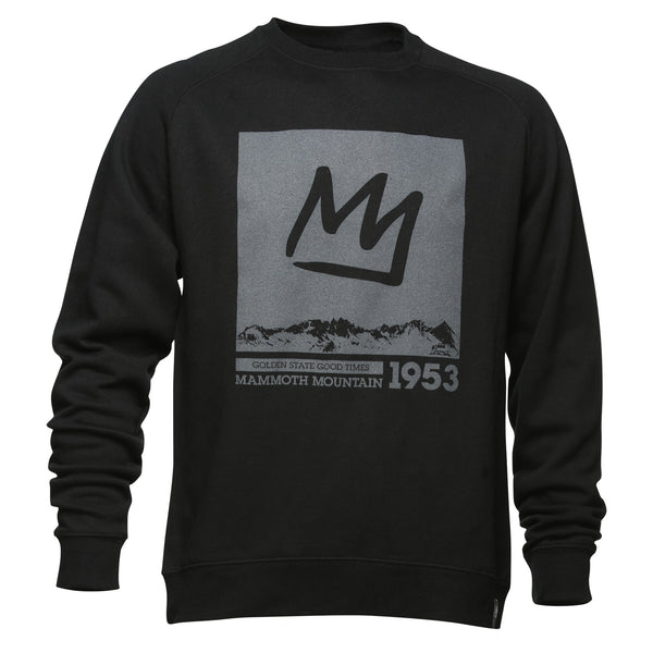 Adult Crown Crew Neck Sweatshirt