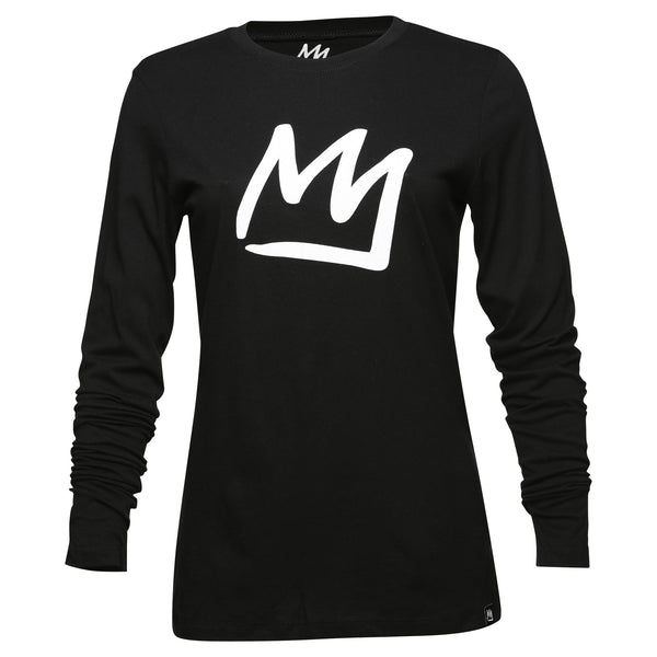 Women's Crown Long Sleeve T-Shirt