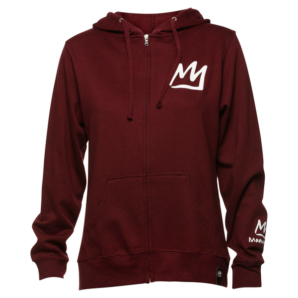 Women's Crown Zip Hoodie