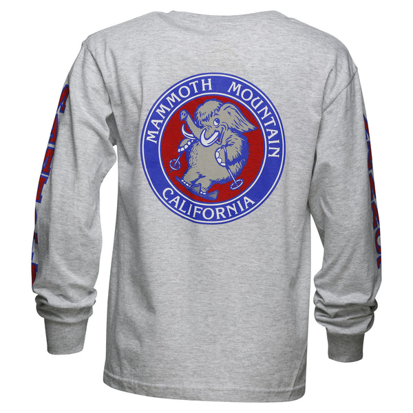 Youth Skiing Woolly Long Sleeve T-Shirt