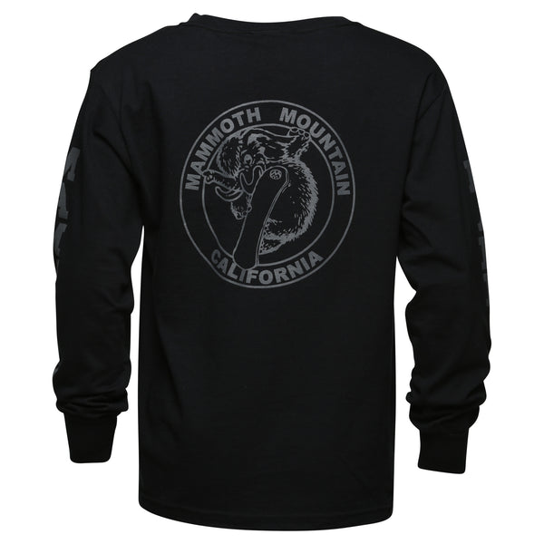 Snowboard Woolly Youth Long Sleeve T-Shirt