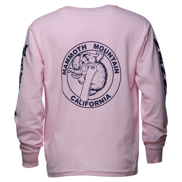 Youth Snowboard Woolly Long Sleeve T-Shirt