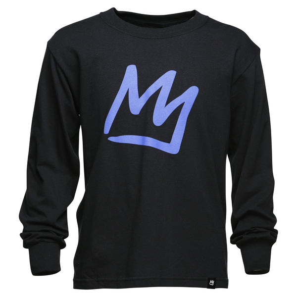 Crown Youth Long Sleeve T-Shirt