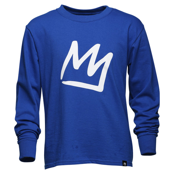 Youth Crown Long Sleeve T-Shirt