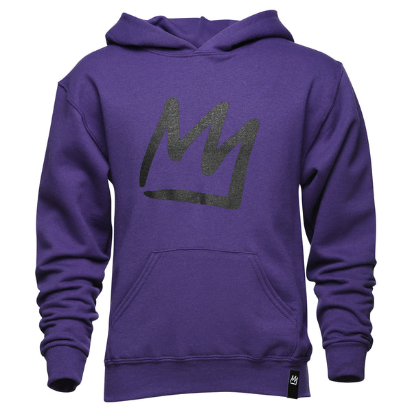Crown Youth Purple Sweatshirt