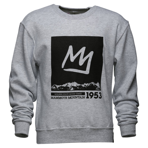 Crown Youth Crew Neck Sweatshirt