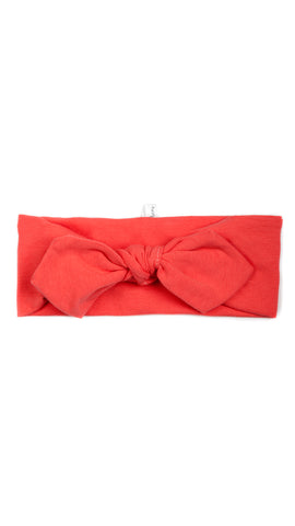 Bandeau Extensible : Rose du printemps corail