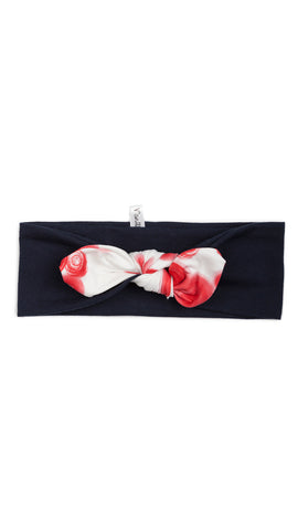 Bandeau Extensible : Pois Rouge (Air Marin)