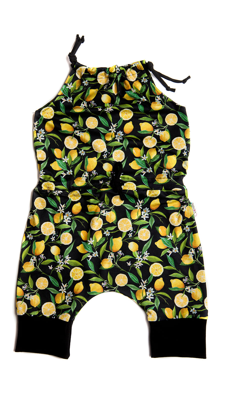 Barboteuse enfant : POP CITRON