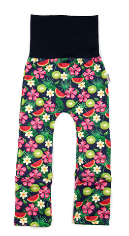 Pantalon Évolutif Mini (0-12M) : FRUITS TROPICAUX