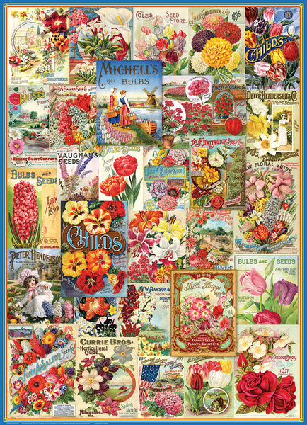Flower Seed Catalogue Puzzle