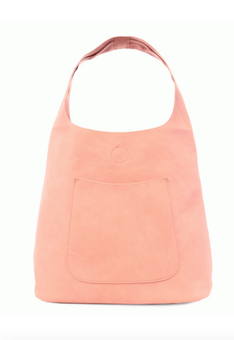 Slouchy Hobo Bag - Rosewater
