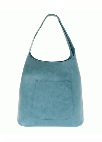 Slouchy Hobo Bag - Blue Lagoon