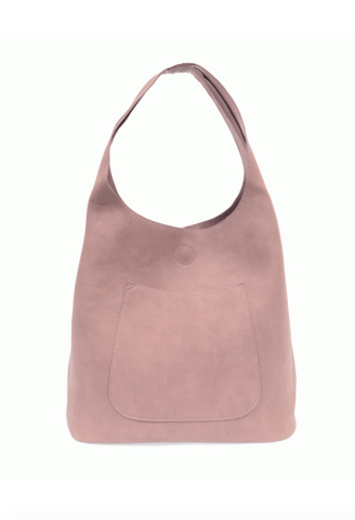 Slouchy Hobo Bag - Dusty Amethyst
