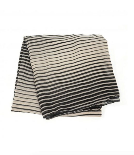 Optic Stripe Scarf
