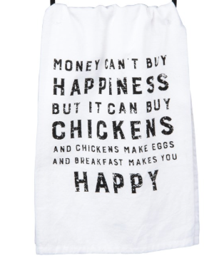Chicken Dish Towel