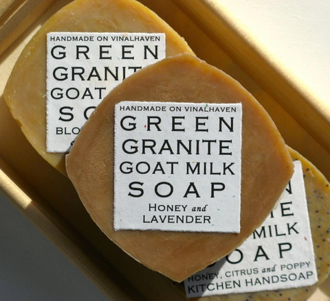 Green Granite Soap