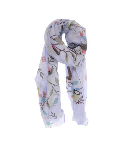 Birds in a Tree Scarf