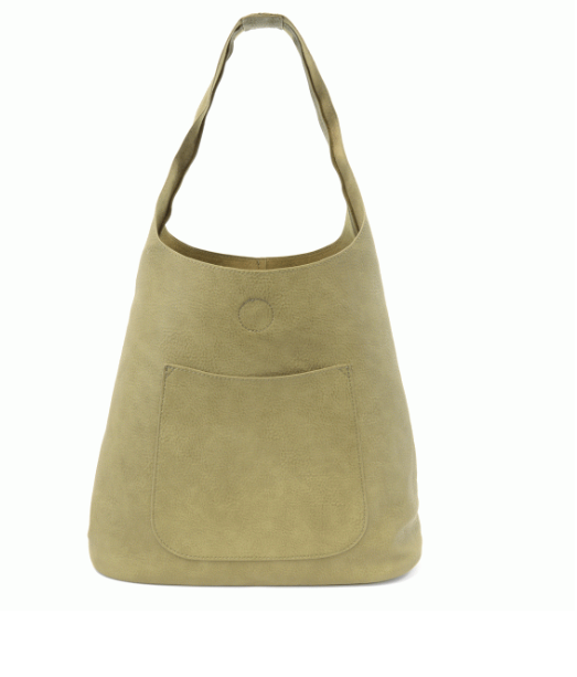 Slouchy Hobo Bag - Guilford Green