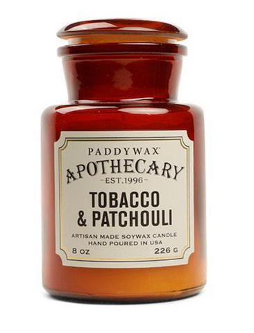 Tobacco & Patchouli Candle