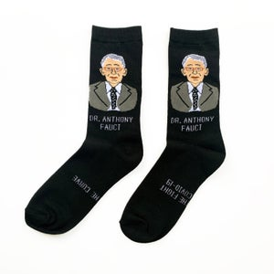 Dr. Anthony Fauci Socks