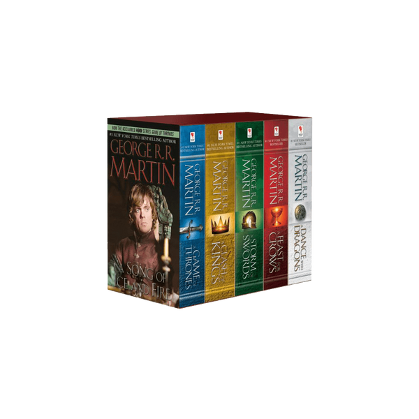 George R R Martins A Game Of Thrones 5 Book Boxed Set Song