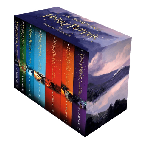 Harry Potter The Complete Collection 7 Books Set Collection J K Rowling