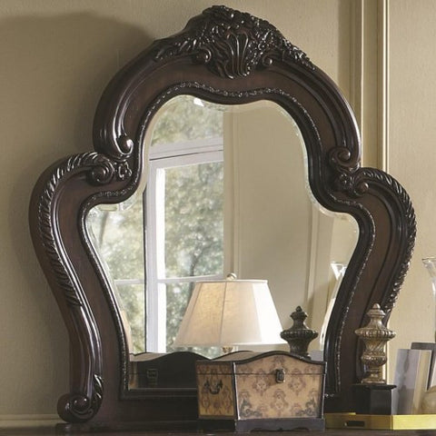 Abigail Victorian Mirror with Exaggerated Curved Frame