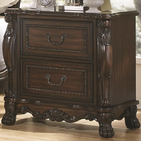 Abigail Claw-Footed Victorian Night Stand