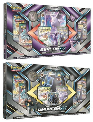 Pokemon Espeon GX and Umbreon GX Box