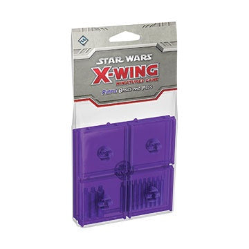 Star Wars X-Wing: Purple Bases and Pegs