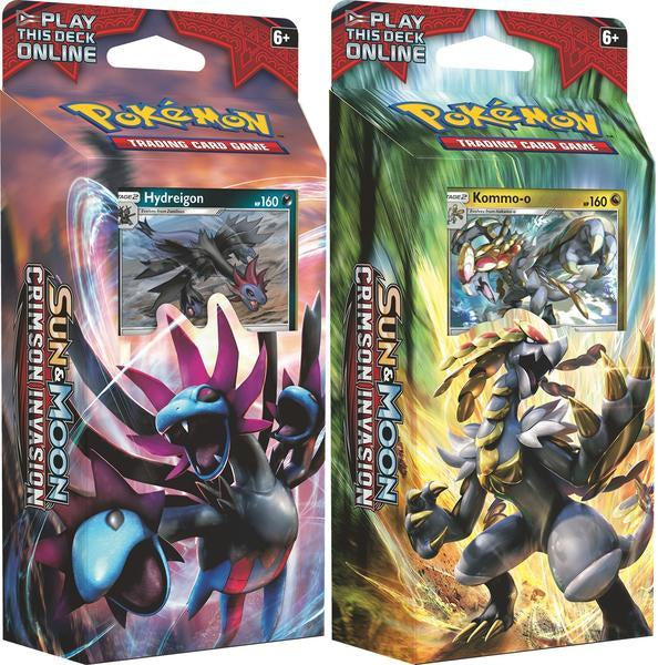 Pokemon SM 4 Crimson Invasion Theme Deck